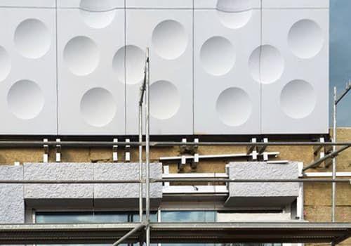 монтаж фасадов зданий