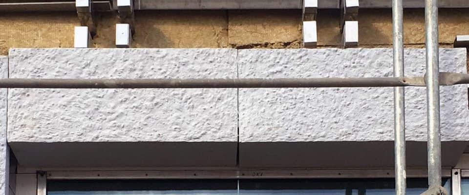 монтаж навесных фасадов