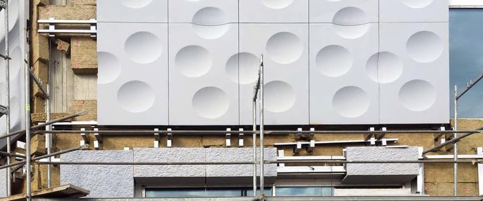 проектирование и монтаж фасадов