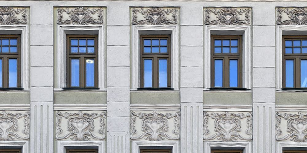 архитектурный лепной декор