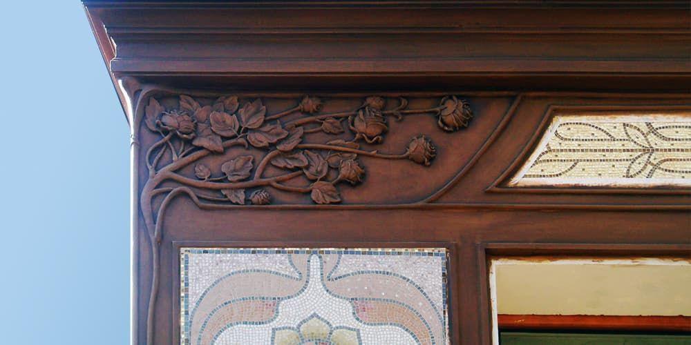 лепной декор фасадный