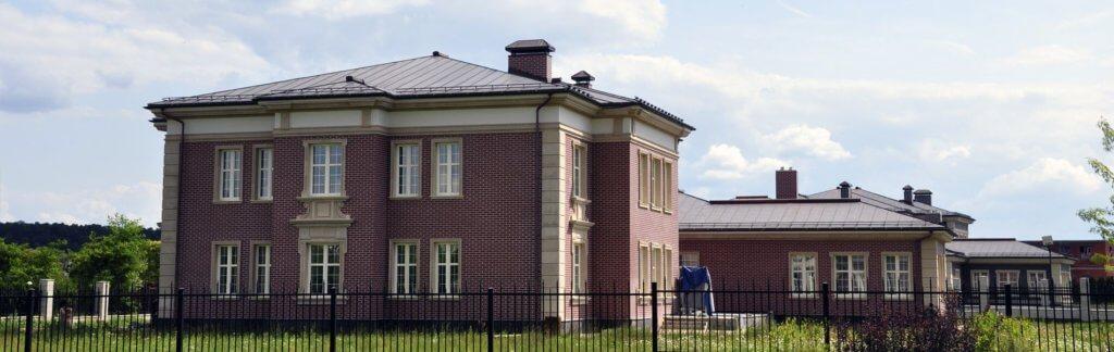 вентилируемый фасад загородного дома
