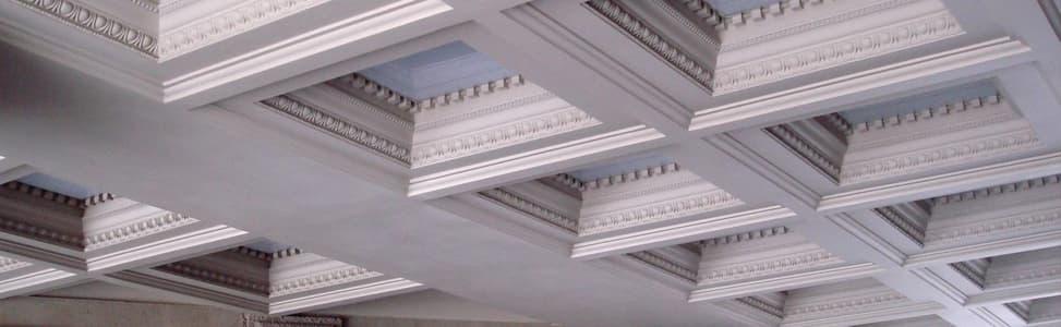 стеклофиброгипс на потолке