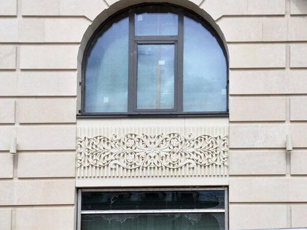архитектурный бетон фасады