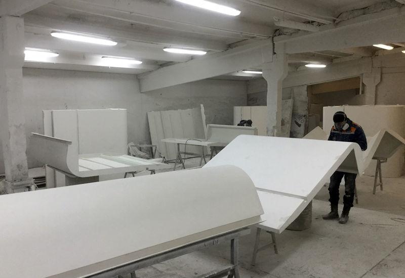 производство изделий из стеклопластика в москве