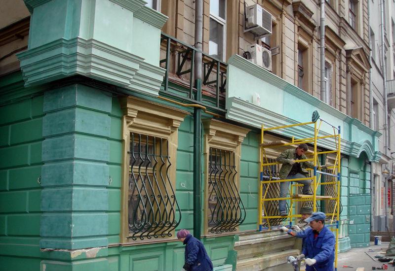 фасадный декор спб