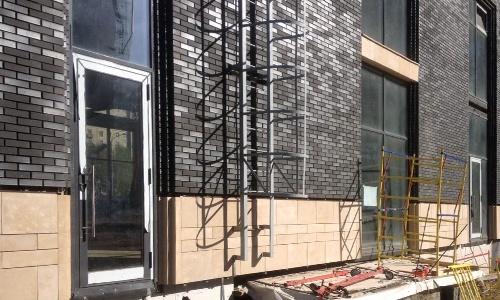 Фасадные работы монтаж