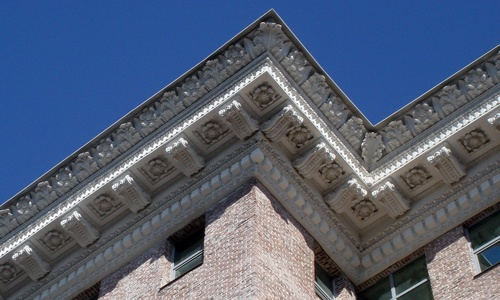 фасадный декор крнизы