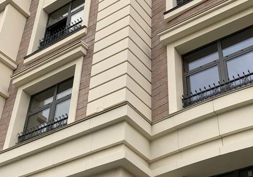 Архитектурные элементы фасада сп