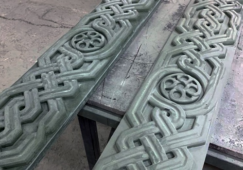Элементы архитектурного декора стеклофибробетон