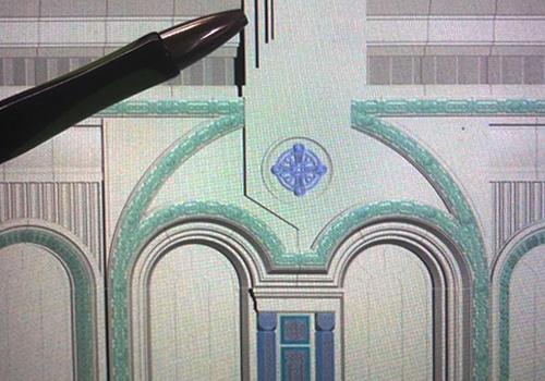 Элементы архитектурного декора фасада здания