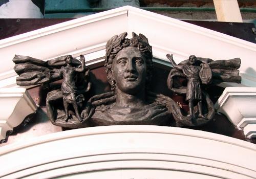 Скульптура гипс