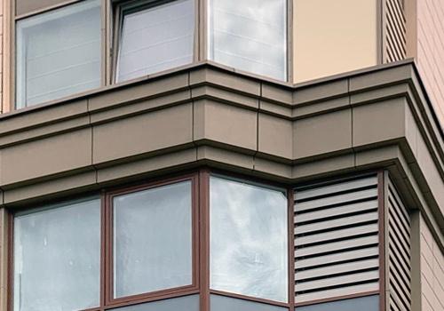 Фасады для различных зданий
