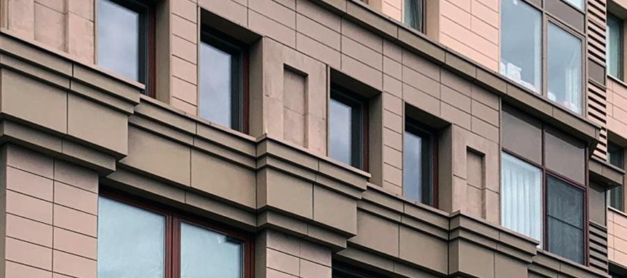 Фасады различных зданий