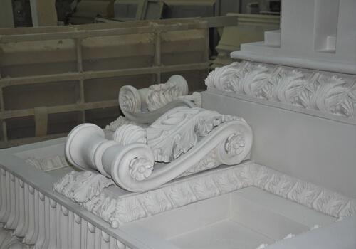 фасады колонны лепнина